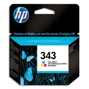 HP Lot de 2 cartouches 343 CB332EE