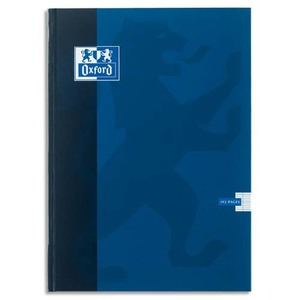 OXFORD Cahier ESSENTIAL brochure 192 pages 5x5 24x32. Couverture carte épaisse